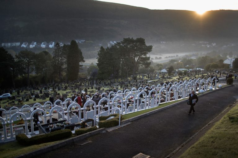 Aberfan Remembers Victims Of Colliery Tragedy 50 Years On