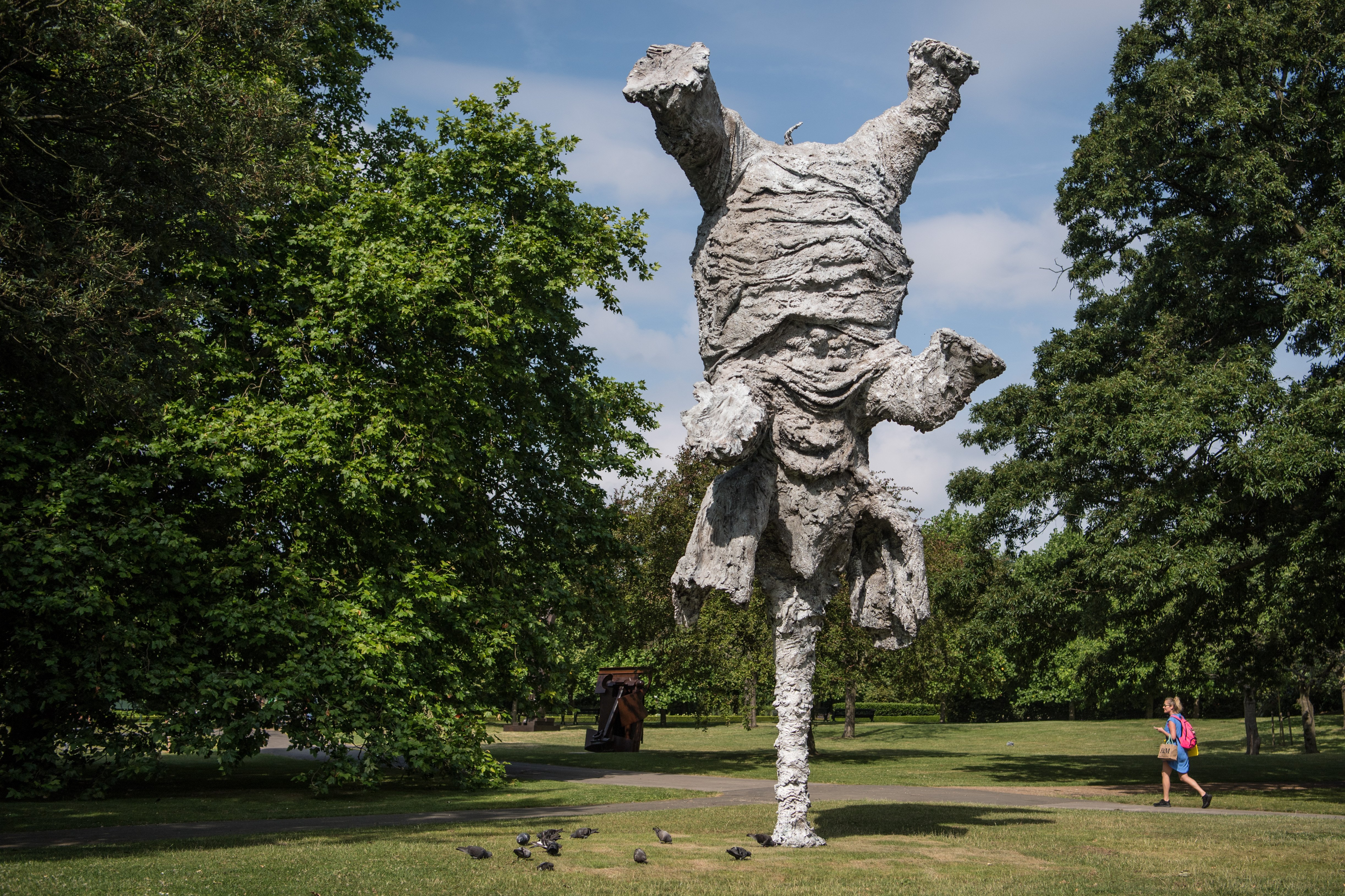 Sculpture Exhibition Opens In Regent S Park First News Live