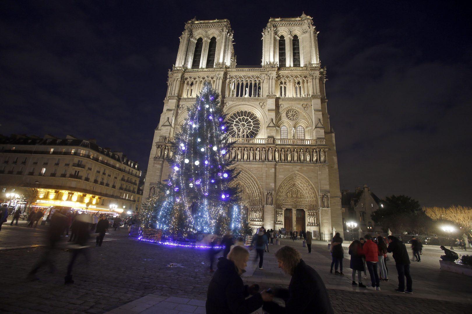 Christmas market at Notre Dame de Paris in Paris - First News Live ...