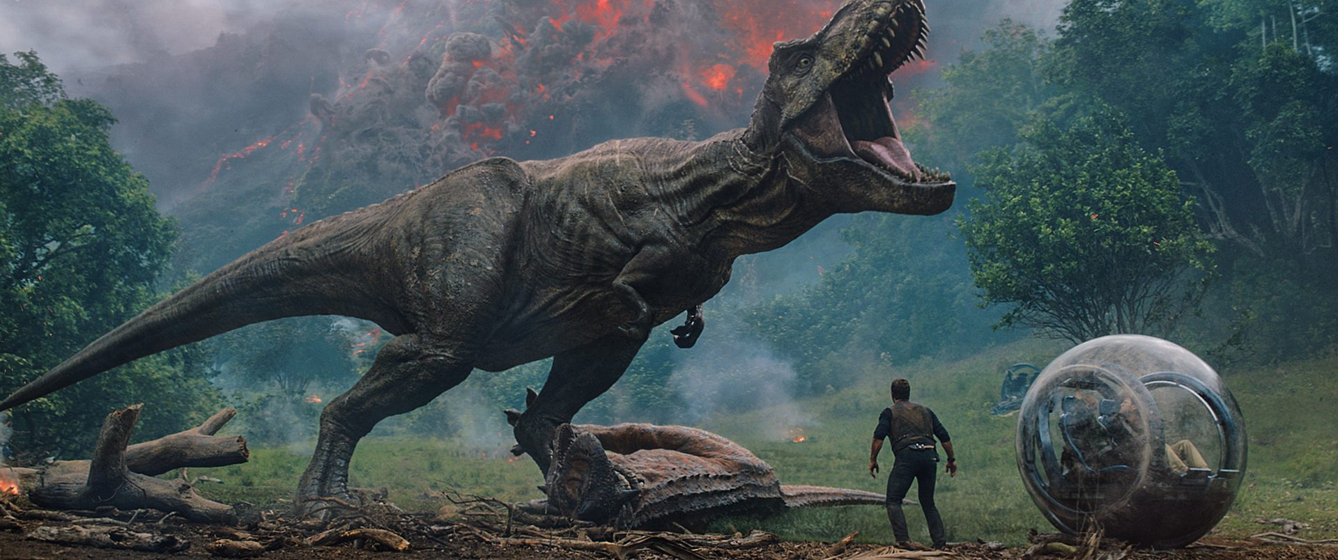 You could watch a special screening of Jurassic World at Vue's flagship venue!