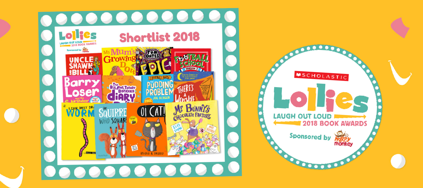 Amazing Book Bundles from the Lollies Awards