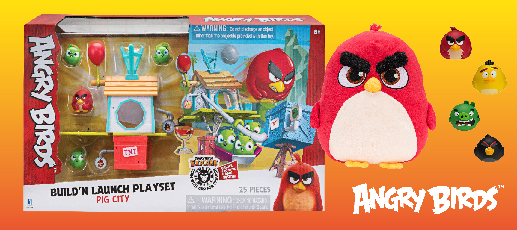 An Angry Birds Bundle of Goodies