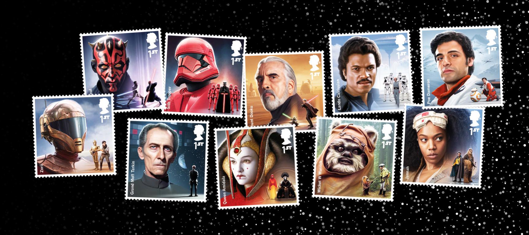A Star Wars Stamp Presentation Pack