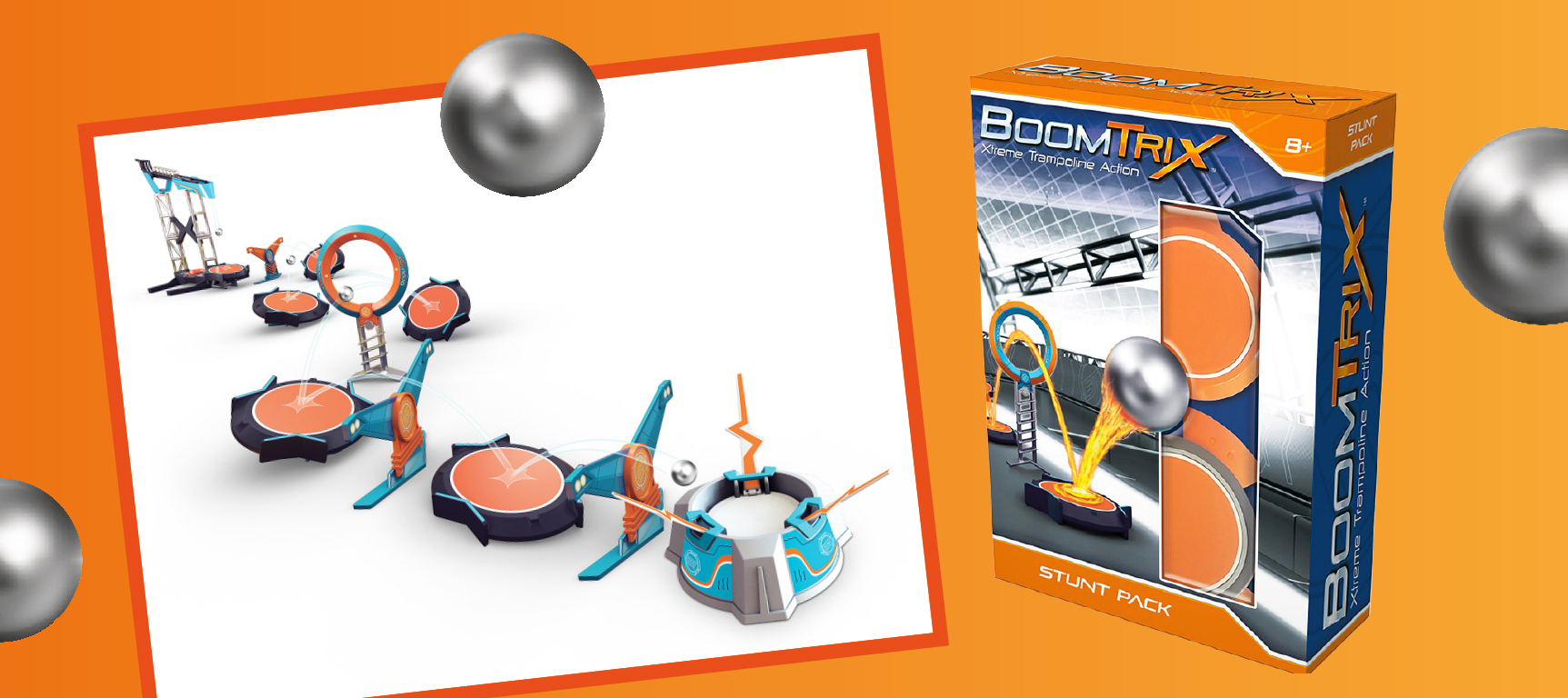 A BoomTrix Multiball and Stunt Pack