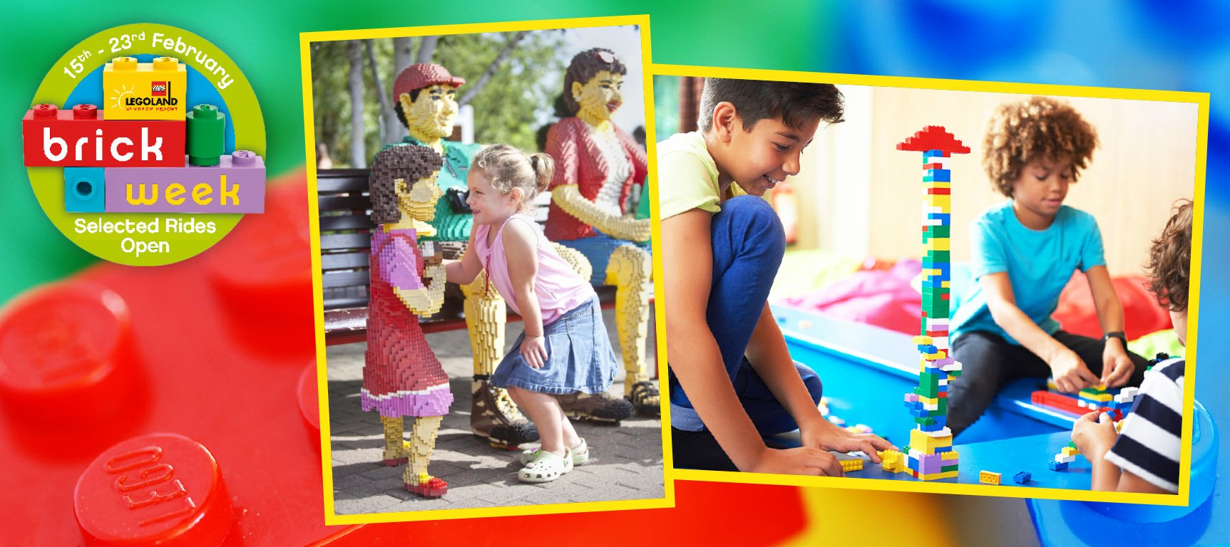 Win Tickets to Brick Week at LEGOLAND® Windsor Resort