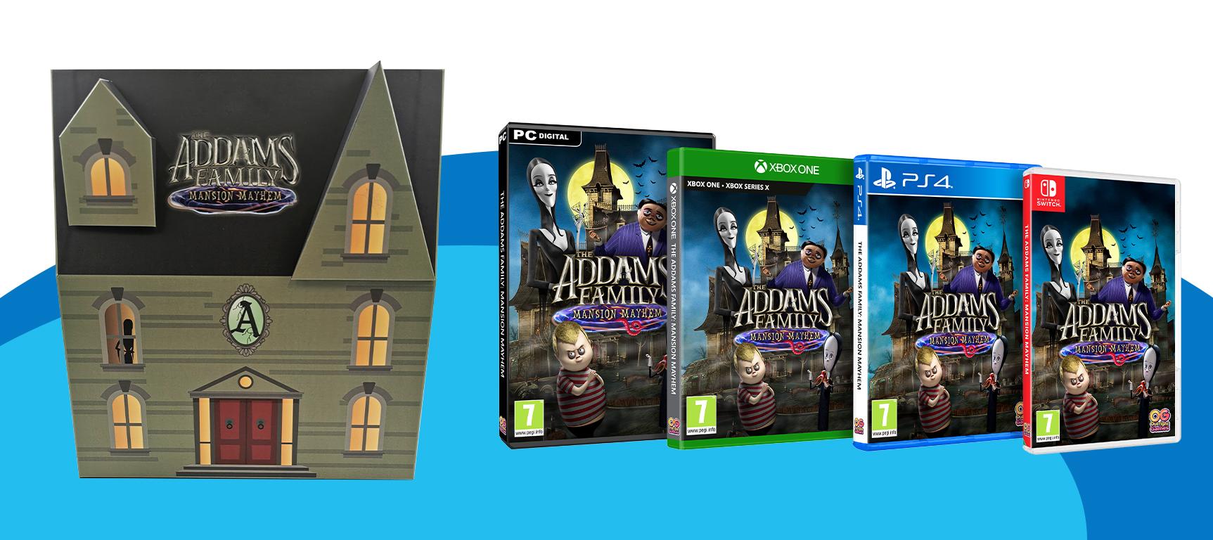 An Addams Family Gaming Bundle